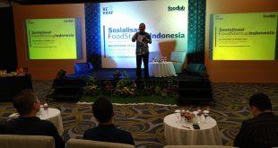 Badan Ekonomi Kreatif saat menggelar sosialisasi Food Startup Indonesia di Kota Balikpapan