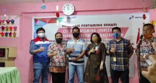 Pertamina Resmikan Program CSR Kampung SABAR Kelurahan Mekarsari Balikpapan