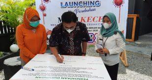 Wali Kota Launching Aksi Perubahan Mari Kece, Kelurahan Cegah Covid-19